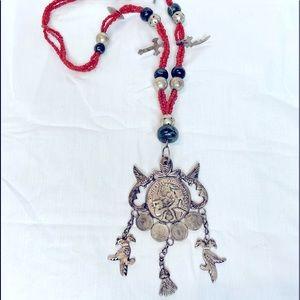 Vintage Guatemalan necklace